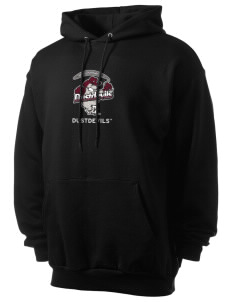 Texas A&M International University Dustdevils Men's 7.8 oz Lightweight Hooded Sweatshirt