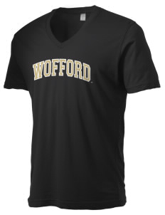 Wofford College Terriers Alternative Men's 3.7 oz Basic V-Neck T-Shirt