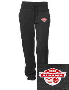 Albania Soccer Embroidered Alternative Women's Unisex 6.4 oz. Costanza Gym Pant