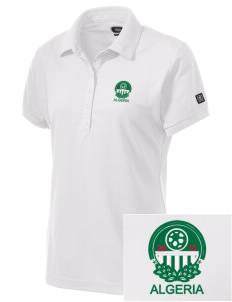 Algeria Soccer Embroidered OGIO Women's Jewel Polo
