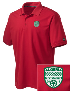 Algeria Soccer Embroidered OGIO Men's Caliber Polo