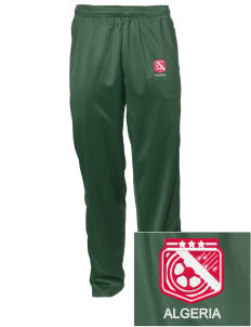 Algeria Soccer Embroidered Men's Tricot Track Pants