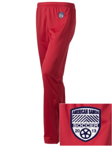 American Samoa Soccer Embroidered Holloway Women's Contact Warmup Pants