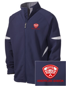 American Samoa Soccer Holloway Embroidered Men's Radius Zip Front Jacket