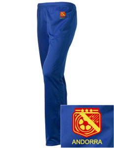 Andorra Soccer Embroidered Holloway Women's Contact Warmup Pants