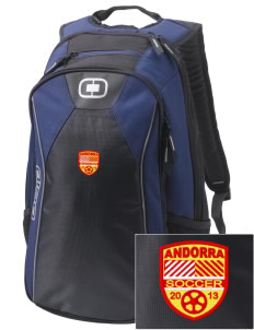 Andorra Soccer Embroidered OGIO Marshall Backpack