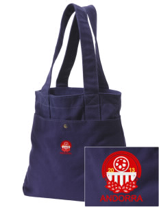 Andorra Soccer Embroidered Alternative The Berkeley Tote