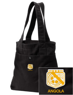 Angola Soccer Embroidered Alternative The Berkeley Tote
