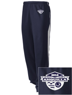 Anguilla Soccer Embroidered Holloway Men's Pivot Warm Up Pants