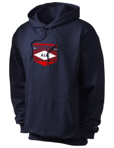 Anguilla Soccer Champion Men's Hooded Sweatshirt