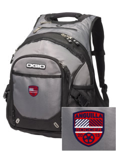 Anguilla Soccer Embroidered OGIO Fugitive Backpack