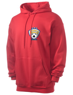 Antigua and Barbuda Soccer Men's 7.8 oz Lightweight Hooded Sweatshirt