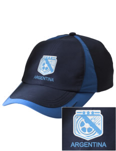 Argentina Soccer Embroidered Nike Golf Colorblock Cap