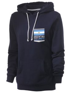 Argentina Soccer Women's Core Fleece Hooded Sweatshirt