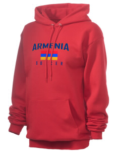 Armenia Soccer Unisex 7.8 oz Lightweight Hooded Sweatshirt