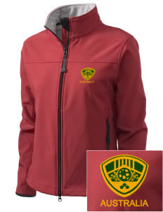 Australia Soccer Embroidered Women's Glacier Soft Shell Jacket