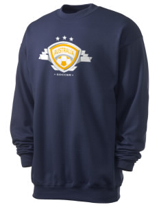 Australia Soccer Men's 7.8 oz Lightweight Crewneck Sweatshirt