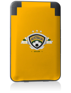 Australia Soccer Kindle Keyboard 3G Skin