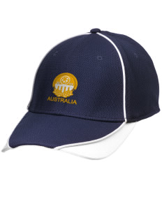 Australia Soccer Embroidered New Era Contrast Piped Performance Cap
