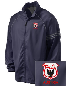 Austria Soccer Embroidered adidas Men's ClimaProof Jacket