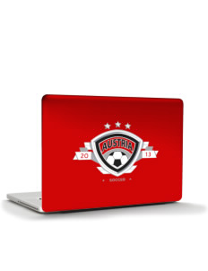 "Austria Soccer Apple MacBook Pro 17"" & PowerBook 17"" Skin"