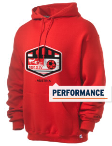 Austria Soccer Russell Men's Dri-Power Hooded Sweatshirt