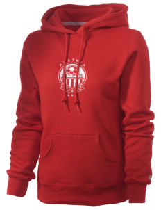 Austria Soccer Russell Women's Pro Cotton Fleece Hooded Sweatshirt