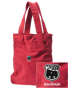 Bahrain Soccer Embroidered Alternative The Berkeley Tote