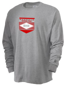 Bahrain Soccer  Russell Men's Long Sleeve T-Shirt