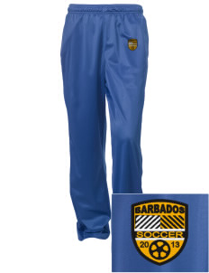 Barbados Soccer Embroidered Women's Tricot Track Pants