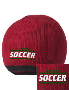 Belarus Soccer Embroidered Champion Striped Knit Beanie