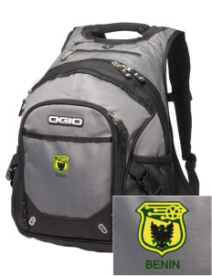 Benin Soccer Embroidered OGIO Fugitive Backpack