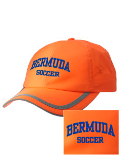 Bermuda Soccer  Embroidered Safety Cap