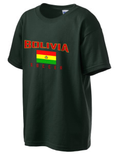 Bolivia Soccer Kid's 6.1 oz Ultra Cotton T-Shirt