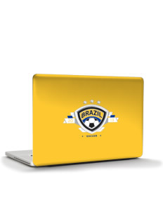 "Brazil Soccer Apple MacBook Air 13"" Skin"