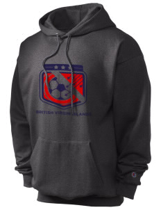 British Virgin Islands Soccer Champion Men's Hooded Sweatshirt
