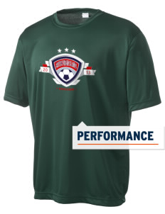 British Virgin Islands Soccer Men's Competitor Performance T-Shirt