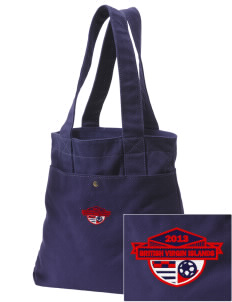 British Virgin Islands Soccer Embroidered Alternative The Berkeley Tote