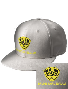Brunei Darussalam Soccer  Embroidered New Era Flat Bill Snapback Cap