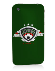 Bulgaria Soccer Apple iPhone 3G/ 3GS Skin