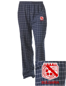 Bulgaria Soccer Embroidered Unisex Button-Fly Collegiate Flannel Pant