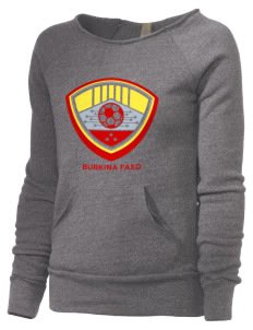Burkina Faso Soccer Alternative Women's Maniac Sweatshirt