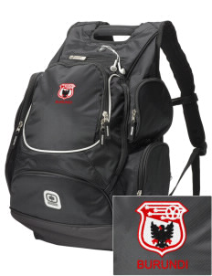 Burundi Soccer  Embroidered OGIO Bounty Hunter Backpack