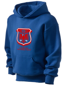 Cambodia Soccer Kid's Hooded Sweatshirt