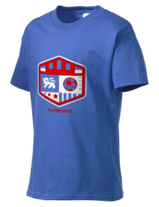 Cambodia Soccer Kid's Essential T-Shirt