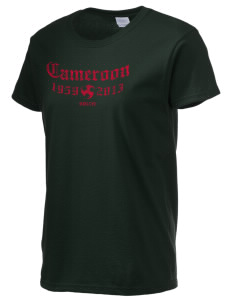 Cameroon Soccer Women's 6.1 oz Ultra Cotton T-Shirt