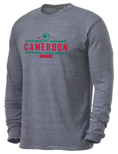 Cameroon Soccer Alternative Men's 4.4 oz. Long-Sleeve T-Shirt