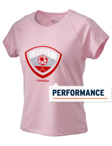 Canada Soccer Champion Women's Wicking T-Shirt