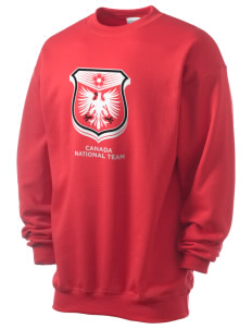 Canada Soccer Men's 7.8 oz Lightweight Crewneck Sweatshirt