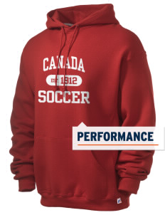 Canada Soccer Russell Men's Dri-Power Hooded Sweatshirt